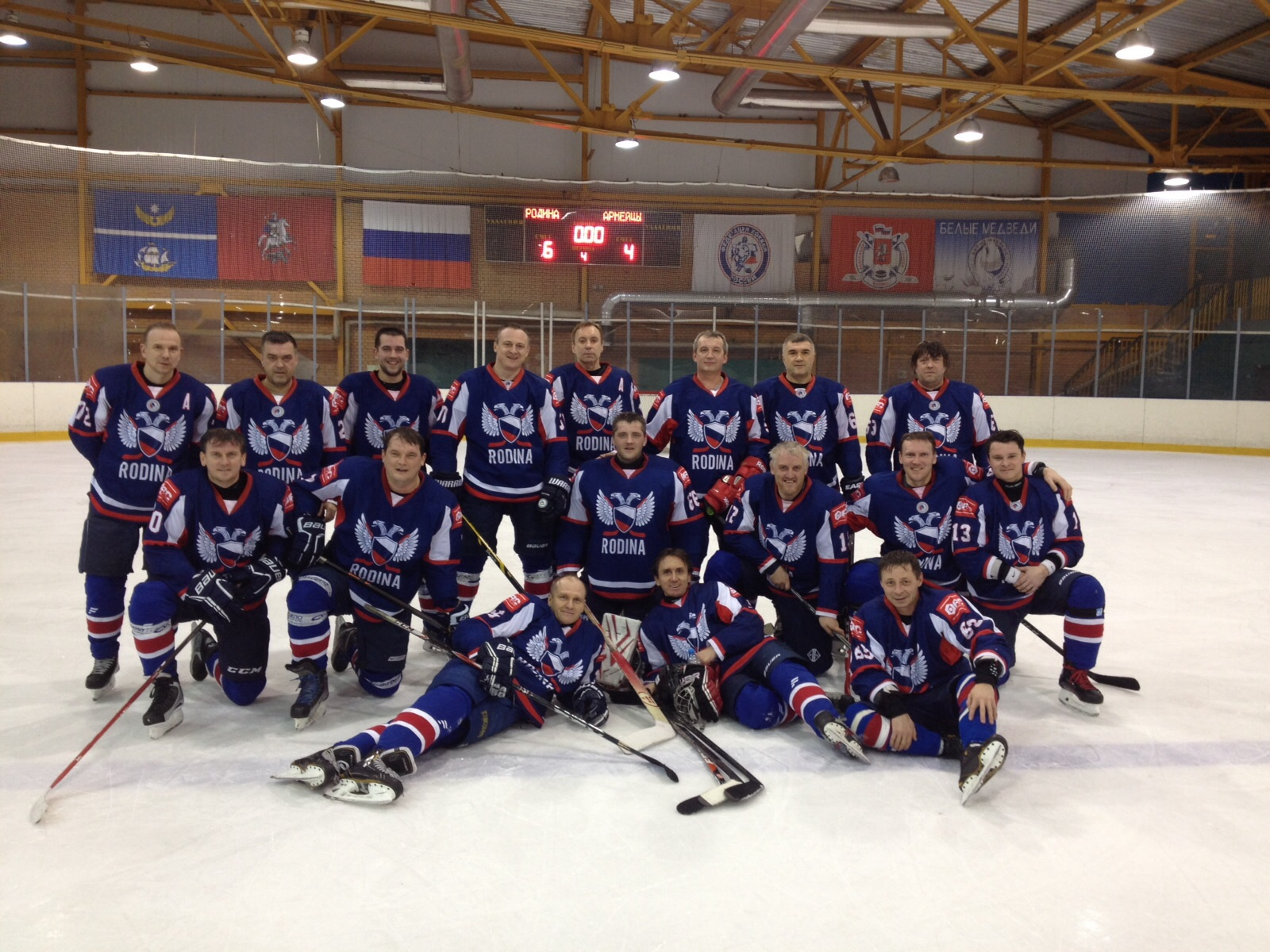 любительские хоккейные клубы москва